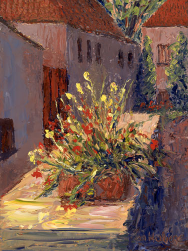 Sunny Flowers, Angles-sur-L'Anglin