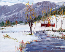 Original Oil Paintings of Vermont Landscapes